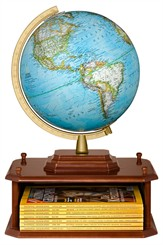 "10-1/2"" National Geographic Exploration Station Globe"