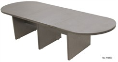 12' Pewter Matrix Laminate Conference Table