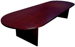 12' Genuine Veneer Mahogany Conference Table
