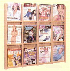 12 Magazine Pocket Rack