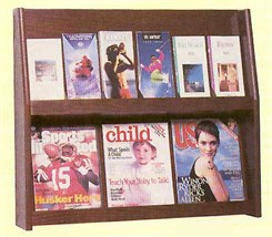 12 Pamphlet/6 Magazine Display