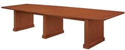 12' Sunburst Cherry Conference Table