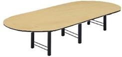 12' Custom High-Tech Racetrack Table w/2 Bases