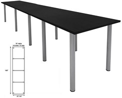 16' Standing Height Conference Table