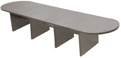 16' Pewter Matrix Laminate Conference Table