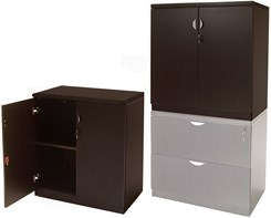 "36""H 2-Door Locking Storage Cabinet"