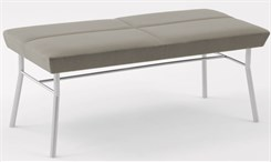 Mystic 2 Seat Bench in Upgrade Fabric or Healthcare Vinyl
