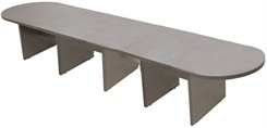 20' Pewter Matrix Laminate Conference Table