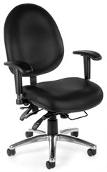Vinyl Big & Tall 400 lb Cap. 24-Hour Ergonomic Chair