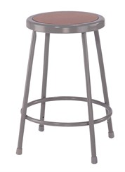 "24""H Fixed Height Heavy-Duty Lab Stool"