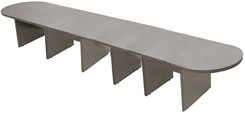 24� Pewter Matrix Laminate Conference Table