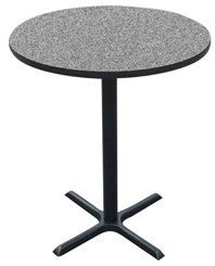 "24"" Round Bar Stool Height Table"