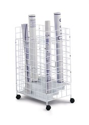 24-Compartment Wire Roll File