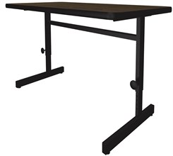 "24"" x 36"" Adjustable Height  Computer Station"