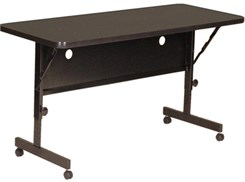 "24"" x 72"" Adjustable Height Flip Top Table"