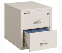 "21""W x 25""D 2-Drawer Fireproof Vertical Legal-Sized File"