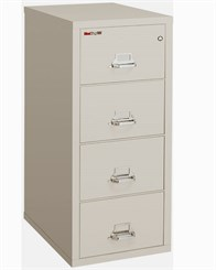 "21""W x 25""D 4-Drawer Fireproof Vertical Legal-Sized File"