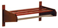 "25-3/4"" Wood Coat/Hat Rack"