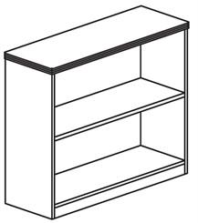 """29""""H Bookcase"""