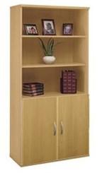 2-Door Bookcase
