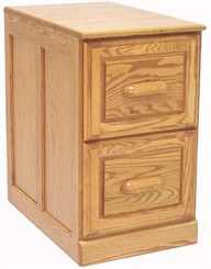 2-Drawer Genuine Oak File