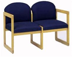 2-Seat Loveseat in Standard Fabric or Vinyl
