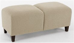 Siena 2 Seat Bench in Standard Fabric or Vinyl