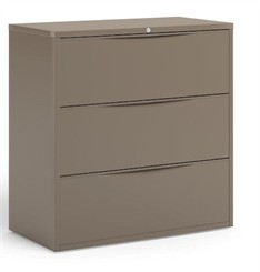 "42""W 3-Drawer Lateral File"