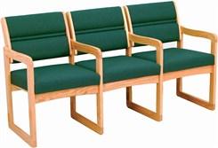 3-Seats w/Armrests