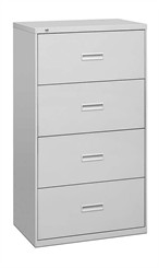 "Hon 30""W 4-Drawer Locking Lateral File"