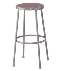 "30""H Fixed Height Heavy-Duty Lab Stool"