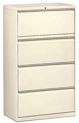 "30""W 4-Drawer Lateral File (with lock)"