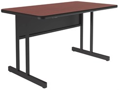 """30"""" x 48"""" Desk Height Workstation"""
