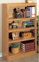 "30"" x 48"" Midas Oak Bookcase"