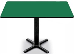 """30"""" x 48"""" Cross Base Table-Height Table"""
