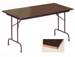 "30"" X 60"" Heavy-Duty Plywood Core Folding Table"