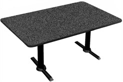 "30"" x 60"" T-Base Table-Height Table"