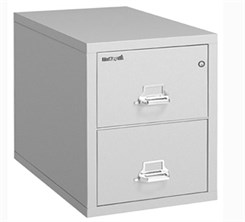 "21""W x 31""D 2-Drawer Fireproof Vertical Legal-Sized File"