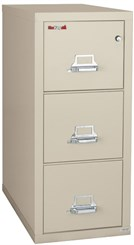 """18""""W x 31""""D 2-Drawer Fireproof Vertical Letter-Sized File"""