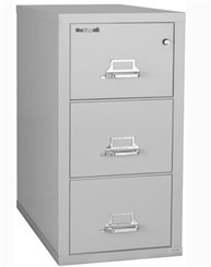 "21""W x 31""D 3-Drawer Fireproof Vertical Legal-Sized File"