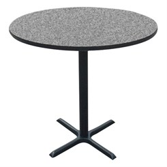 "36"" Round Bar Stool Height Table"