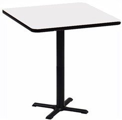 "36"" Square Bar Stool Height Table"