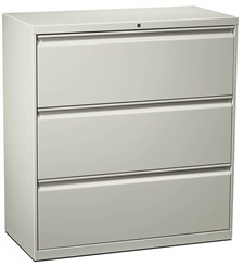 "36""W 3-Drawer Lateral File (with lock)"