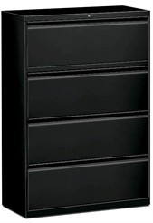 "36""W 4-Drawer Lateral File (with lock)"