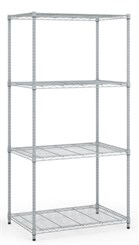 "36""W x 24""D x 72""H Wire Storage Shelving Unit"