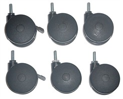 Set of 6 Caster Kit