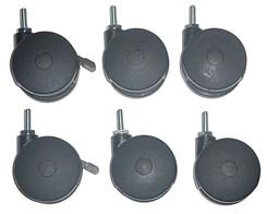 Set of 6 Caster Kit