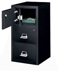 3-Drawer Legal FireKing Fireproof Safe-In-A-File