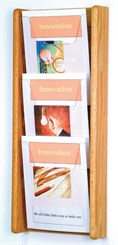 3 Pocket Magazine Wall Rack