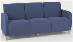 Siena 3 Seat Sofa in Standard Fabric or Vinyl